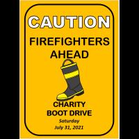 Charity Boot Drive - Lillian Volunteer Fire Department