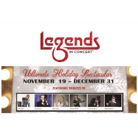 CELEBRATE THE SEASON WITH LEGENDS IN CONCERT'S HOLIDAY SHOW AT OWA THEATER