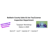 TAXPAYER WORKSHOP • 2020 DATES (4)