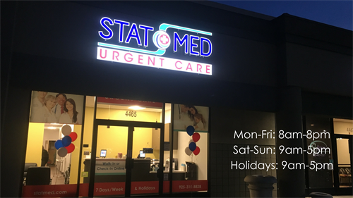 STAT MED Urgent Care - Open 7 days a week!