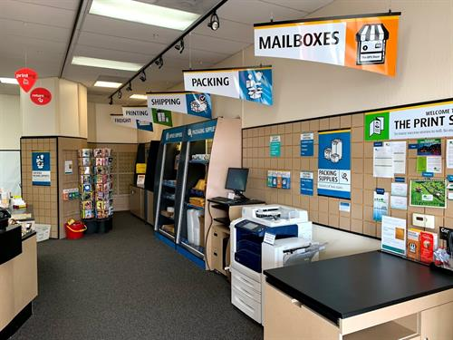 Retail and Mailboxes