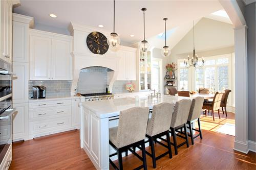 Stunning Kitchen remodel done by LaMantia.