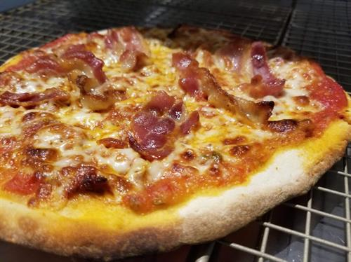 Who doesn't like Bacon on their Pizza!