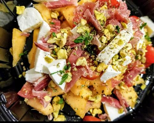 #notjustpizza Unique Salads made from scratch daily #capresemellone