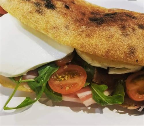 WE import ciabatta bread & make delicious panini too!  #notjustpizza