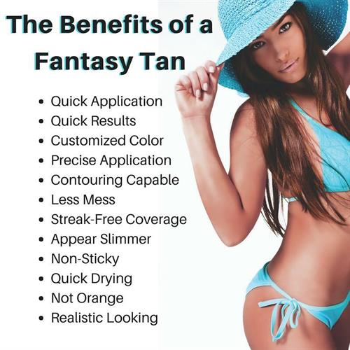 Fantasy Tan is known for natural-looking tans