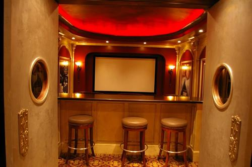 Nothing like a traditional Home Theater