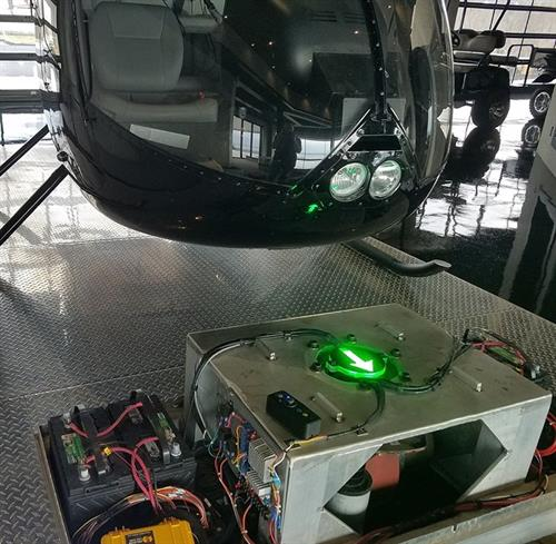 Custom controlled movable helicopter pad! Engineered, created, and programmed by TechPoint1