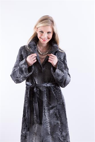 Gray Swakara Coat