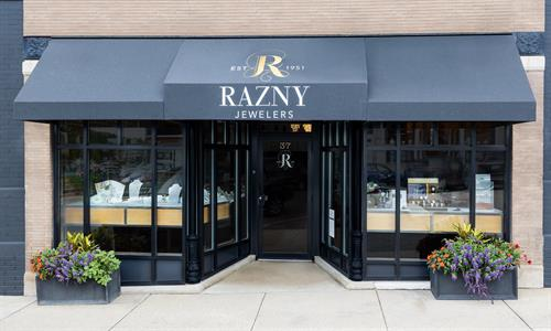 Visit Razny Jewelers in Hinsdale for fine jewelry and timepieces.