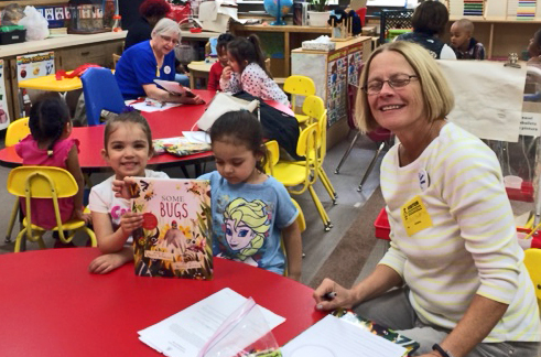 Working with students through the Early Reading literacy program
