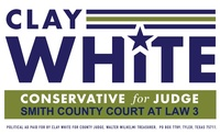Clay White for County Court at Law 3 Judge