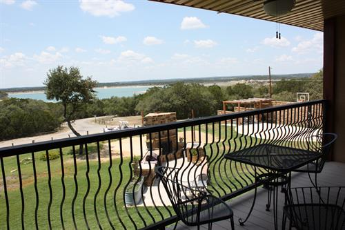 Lakefront Views of Canyon Lake from Balcony