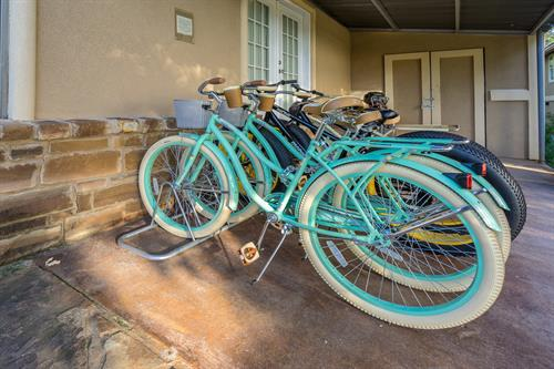 Bicycle Rentals On-Site at Still Water Ranch Condominiums Fun Fun for Kiddos Helmets Provided and locks