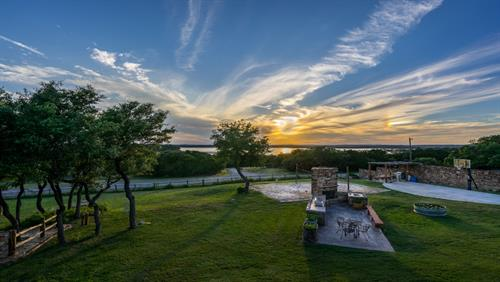 Spectacular Sunset Views of Canyon Lake from Still Water Ranch Condominiums