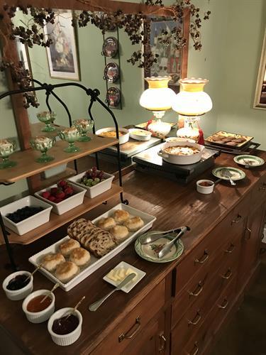 Weekend breakfast buffet, Tasty!