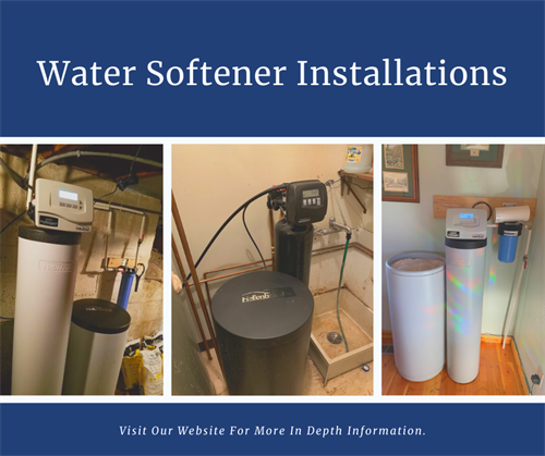 Water Softener Installations