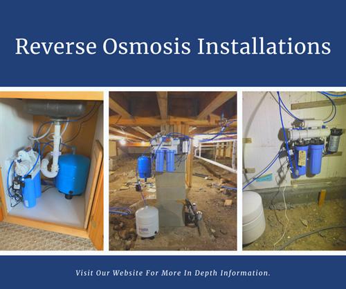 Reverse Osmosis Installations