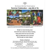 Russian River Vineyards Summer Celebration!