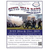 20th Annual CIVIL WAR DAYS