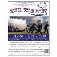 20th Annual CIVIL WAR DAYS