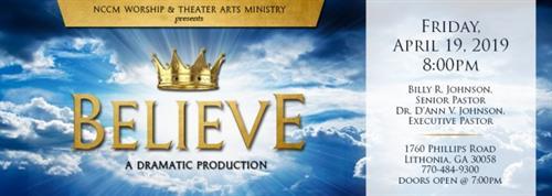 New Covenant Christian Ministry April Presentation