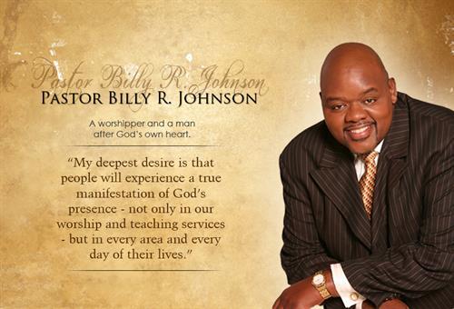 Pastor Billy Johnson