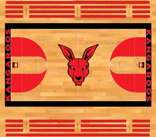 Georgia Kangaroo Basketball Court
