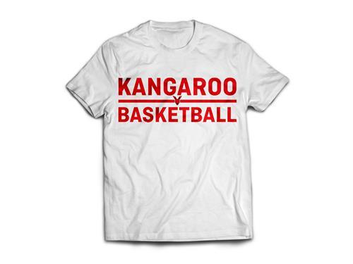 Kangaroo Basketball T-Shirt