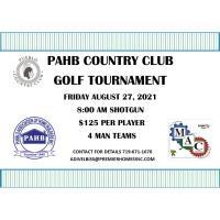 Golf Tournament August 27, 2021