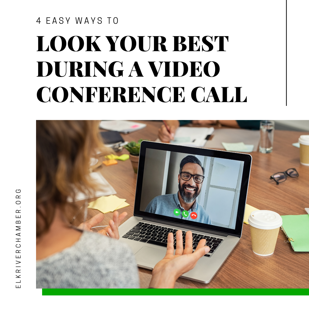 Image for 4 Ways to Look Your Best on a Video Conference Call