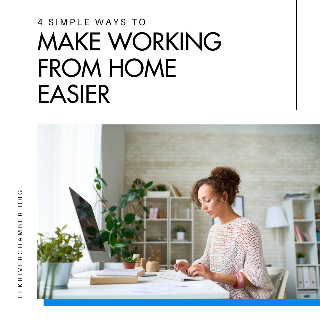 4 Simple Things to Do to Making Working from Home Easier