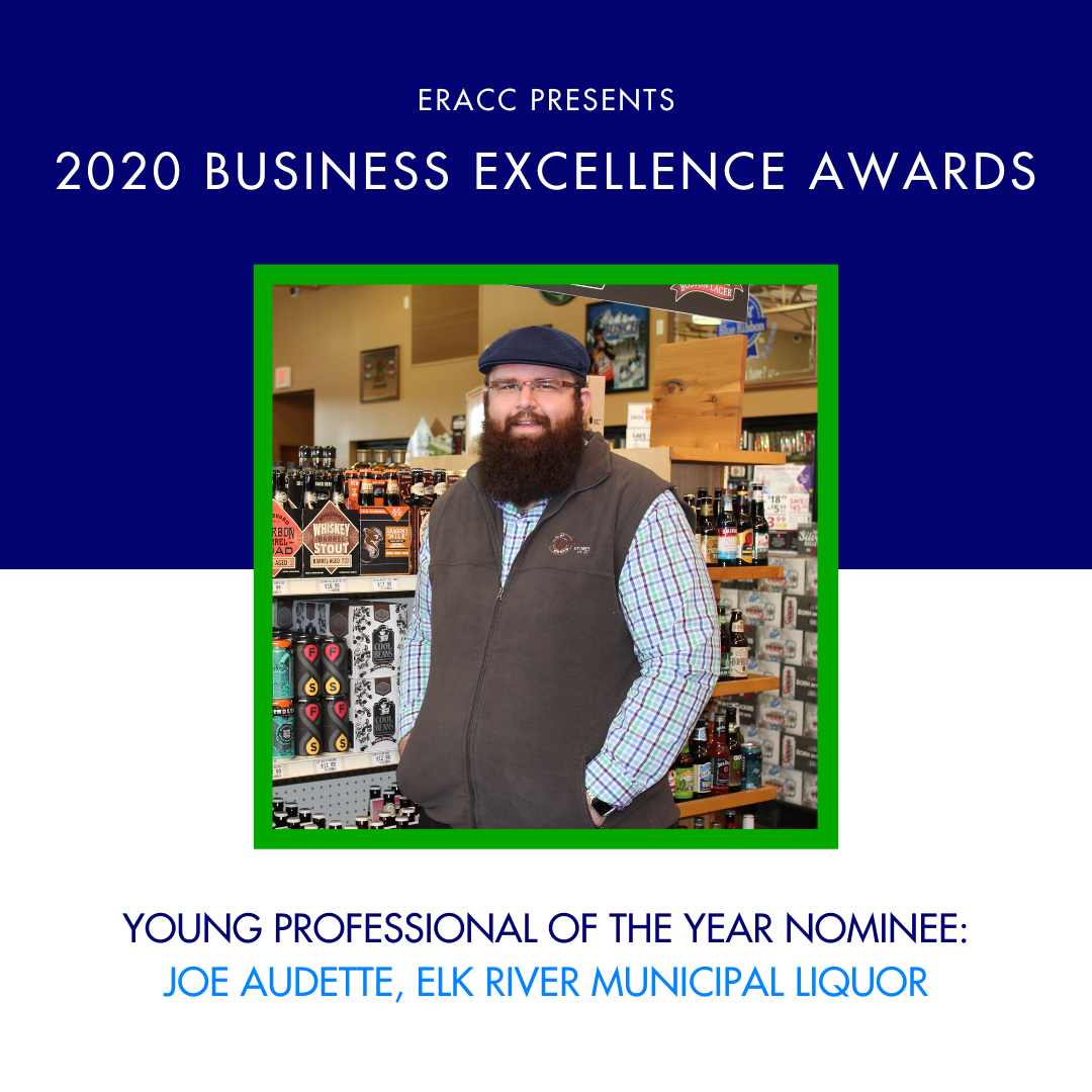 Image for Young Professional of the Year Nominee: Joe Audette, Elk River Municipal Liquor