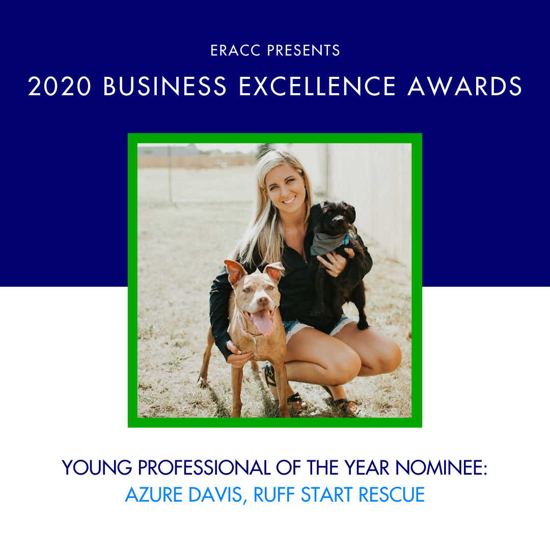 Image for Young Professional of the Year Nominee: Azure Davis, Ruff Start Rescue