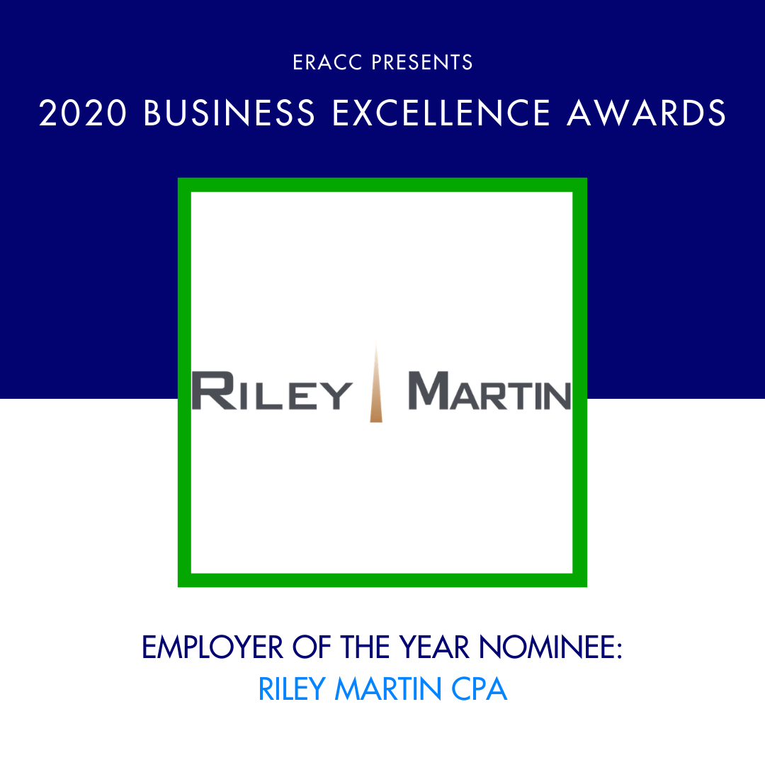 Image for Employer of the Year Nominee: Riley Martin CPA