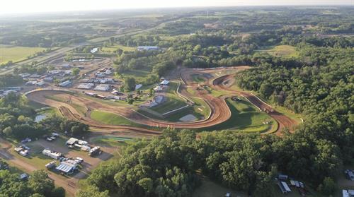 Aerial View of ERX Motor Park