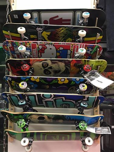 Skateboard completes are ready to ride. All pro brand boards.