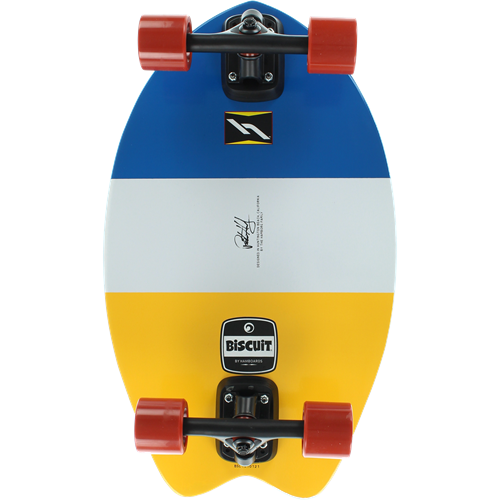 Surfing on pavement style boards & paddles such as the Hamboard Biscuit and Kahuna Creations 59''' longboard
