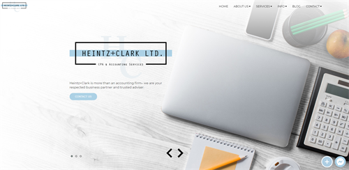 Heintz+Clark LTD. Website