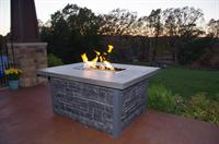 Concrete Firetables (propane or natural gas)