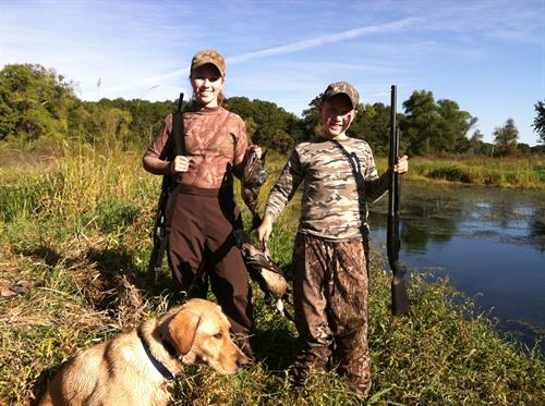 Small game, waterfowl, and deer hunting is allowed in certain parts of the refuge in state seasons.