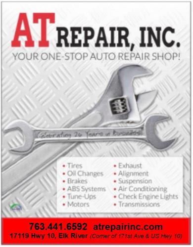 AT Repair is a Full-Service Automotive Repair Center that caters to each of our customers unique needs.