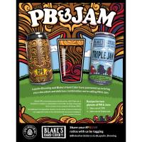 Lupulin Brewing Company and Blake's Hard Cider Company Introduces PB & Jam