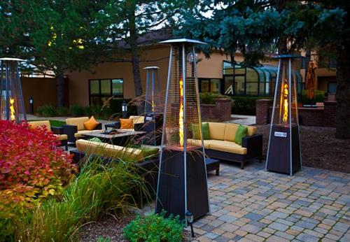 Enjoy our lovely outdoor courtyard.