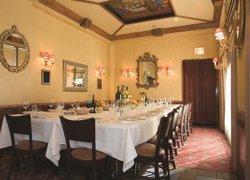 Private Dining in the Tamarack room