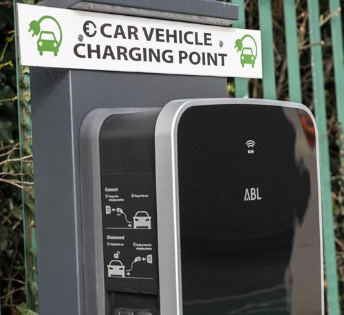 FREE parking and 4 EV charging points
