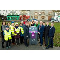 Solar powered compactible 'smart bins' launched in Howth by Fingal County Council