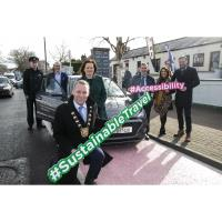 Fingal County Council launch first 'Mobility Hub' on Main Street, Blanchardstown