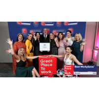 Osborne listed in the Top 3 Best Small Workplaces at the Great Place To Work Awards