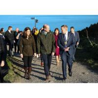 Fingal pushed into the international spotlight as Royal couple visit historic town of Howth